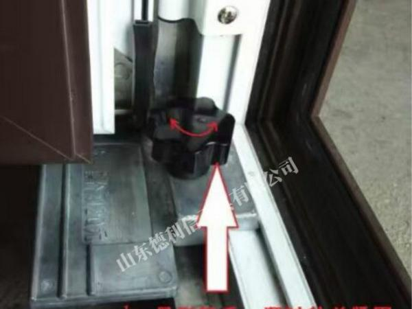 断桥铝门窗窗扇安装工具 平开窗固定铝合金窗扇安装定位器